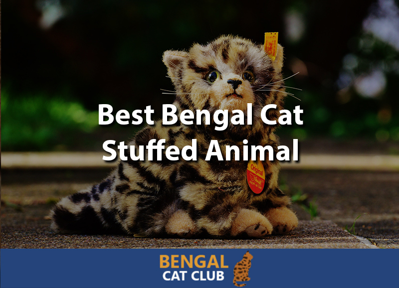 Bengal cat stuffed animal